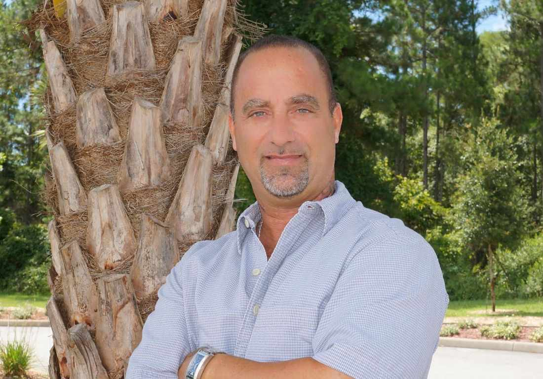Peter Krupitsch has joined his wife as a real estate agent in Palm Coast.