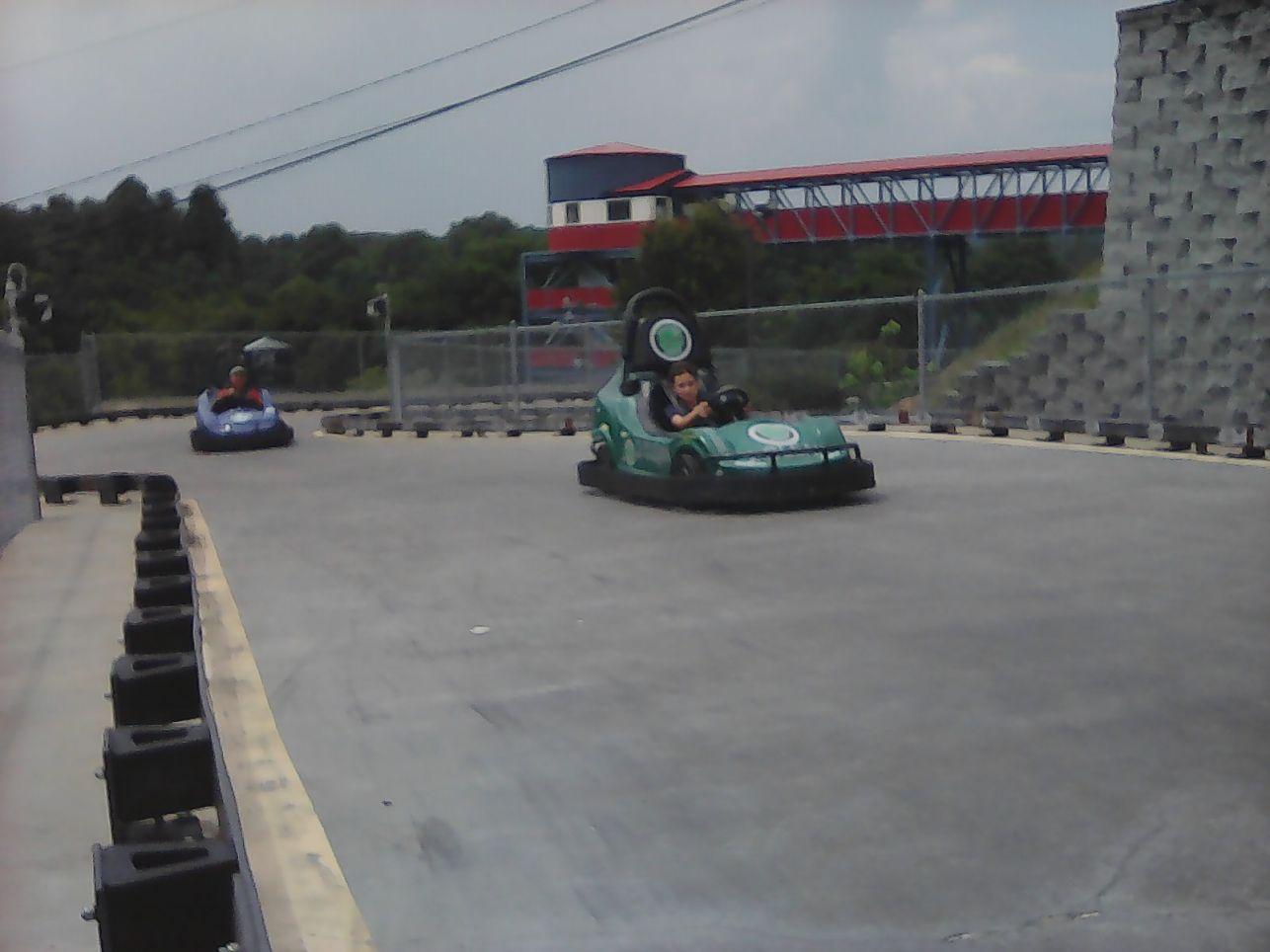 Go Karts at Asheville Fun Depot