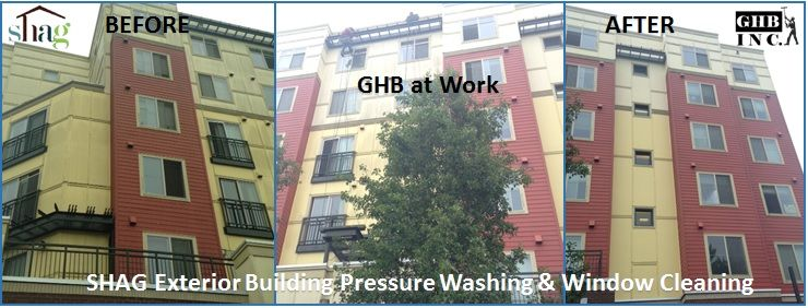 Shag affordable senior housing partners with ghb cleaning - Exterior window cleaning services ...