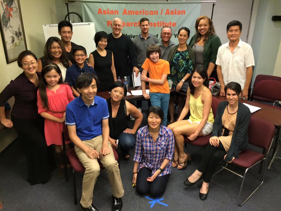 Opposite of a Fairy Tale Reading Cast, AAARI-CUNY