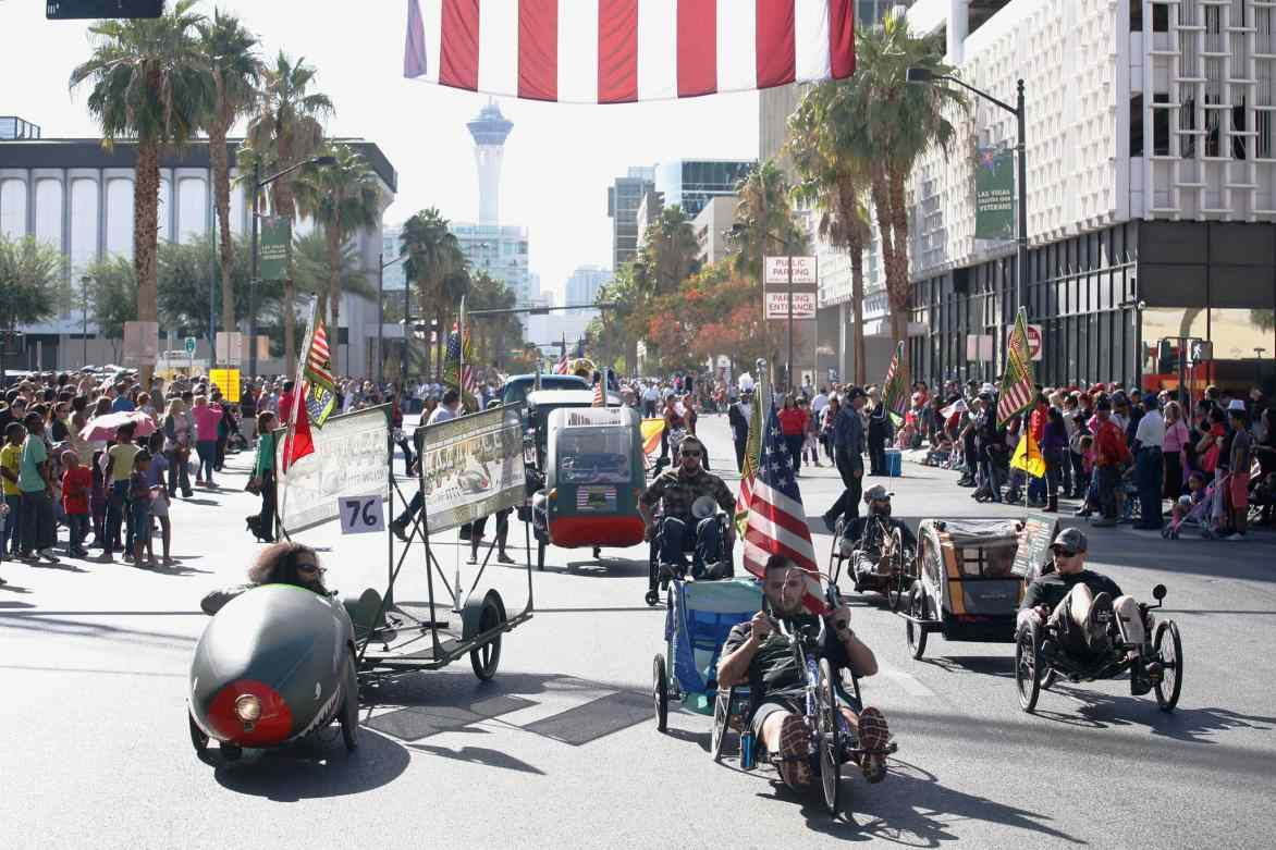 Veteran day Parade 2014