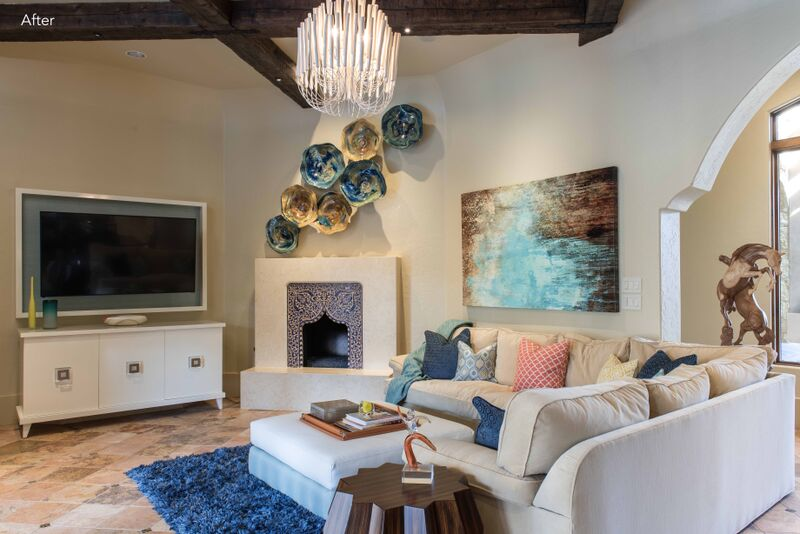 FIRST PLACE – Transitional Living Areas
