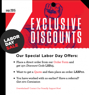 """Labor Day in the United States falls on the first Monday each September to give workers a much-needed day off and to remember the contribution they make to every area of the US economy. Today, the Labor Day weekend is not a big time for """"official events,"""" although there are still [ ]."""
