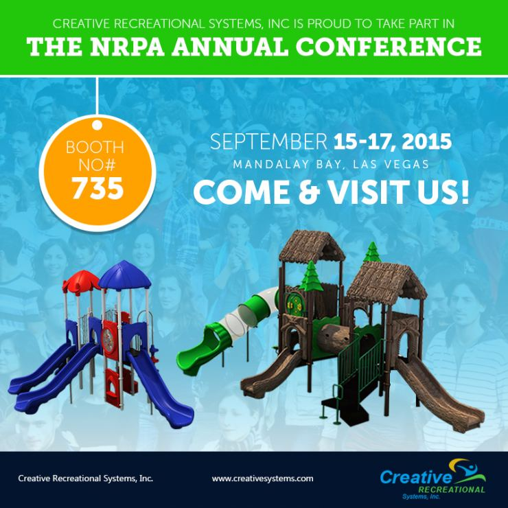 Creative Recreational Systems, inc in NRPA 2015