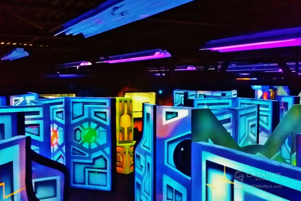 Monster Mini Golf Goes Galactic With Laser Tag Arena
