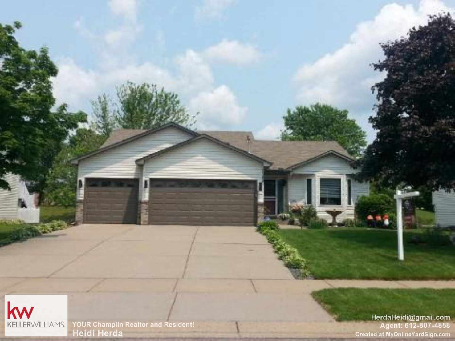 Brooklyn Park Real Estate Listing