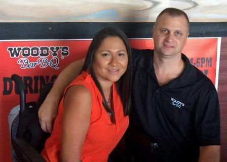 Claudia & Tim Edwards are the proud new owners of Woody's Bar-B-Q of Ponte Vedra