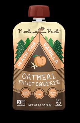 Munk Pack Announces New Flavor, Peach Chia Vanilla