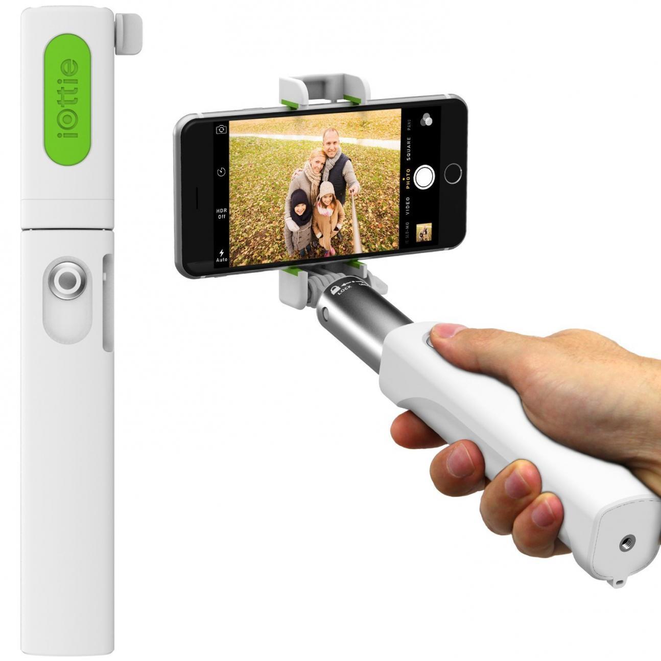iOttie MiGo Selfie Stick Comes in Black & White
