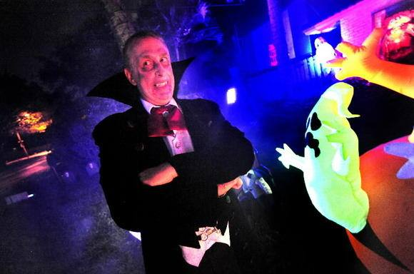 8th annual rick newman halloween sound light laser show - Halloween laser light show ...