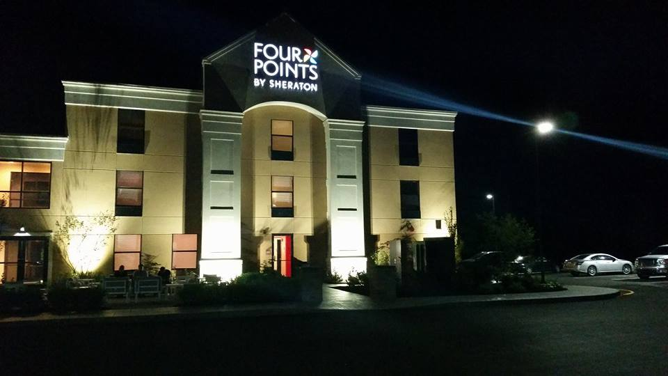 Front Exterior of the Newburgh Four Points by Sheraton