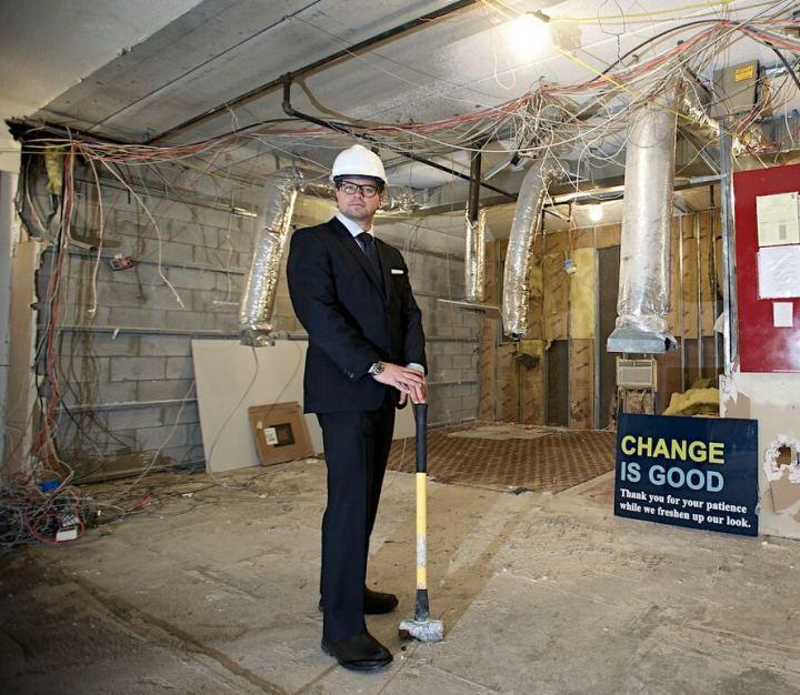 Jonathan Lifschutz on the Construction Site
