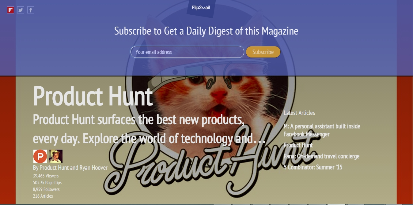 ProductHunt_subscription