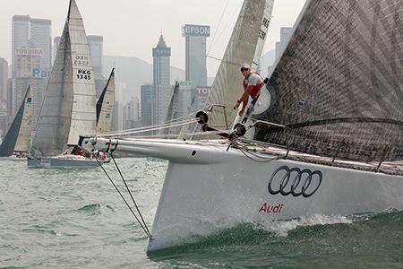 Audi Hong Kong to Vietnam Race (photo RHKYC / Guy Nowell)