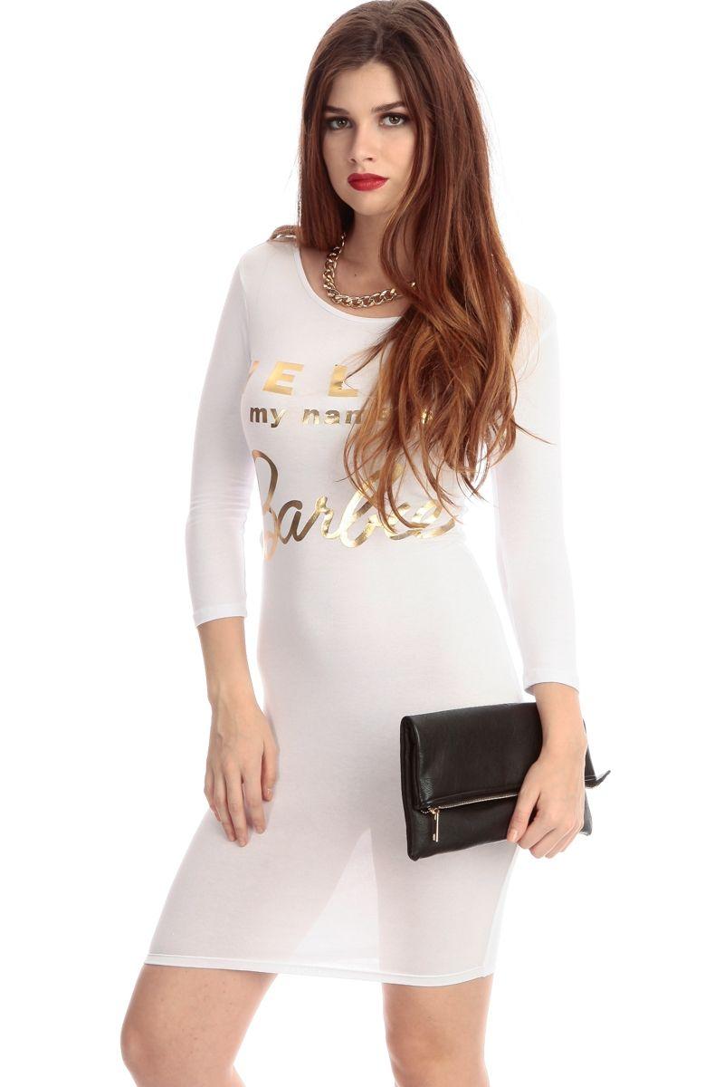 White Club Dresses