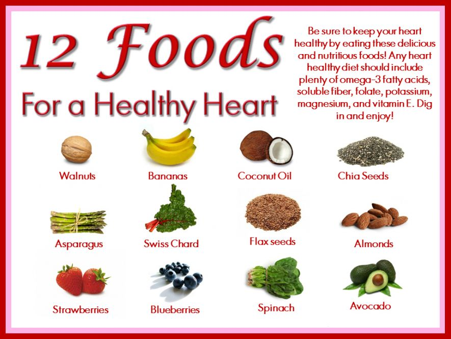 Foods For Heart Patients List