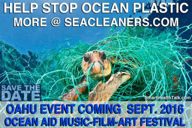 Help Stop Ocean Plastic and Attend Ocean Aid