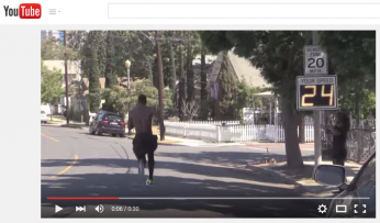 """Adidas' """"Create the New Speed"""" spot features a Radarsign driver feedback sign"""