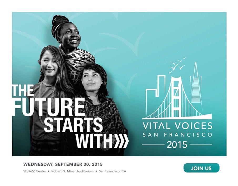 Vital Voices SF 2015