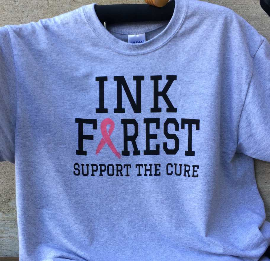 Woman owned screen printing business will not use inks for Water based t shirt printing
