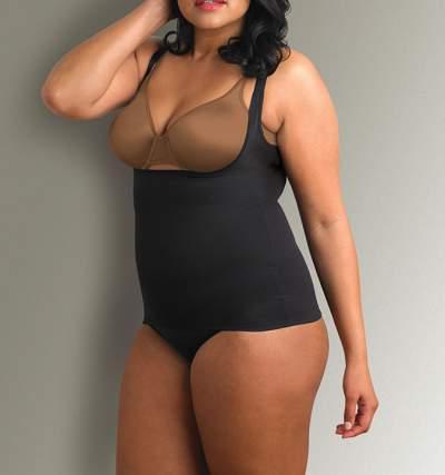 fff3fb373e Cupid® Look Great Feel Comfortable Extra Firm Control Torsette Cami – 5751