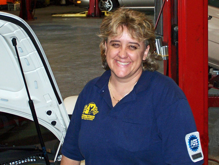Fourth-generation auto mechanic Pam Oaks will instruct the Goodwill class.