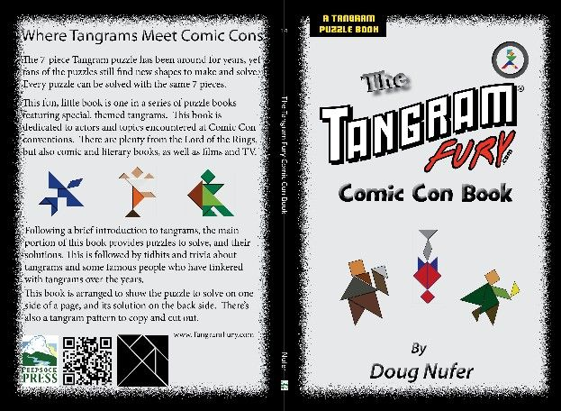 Tangram Fury Comic Con Book