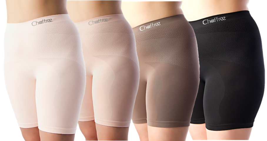 Chafing shorts for women.
