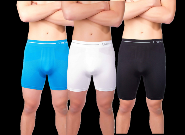 mens boxer shorts control sweat and chafing