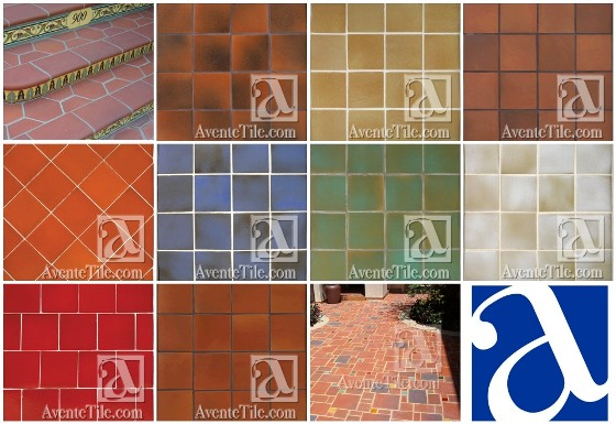 Rustic Terracotta Tiles from Avente Tile