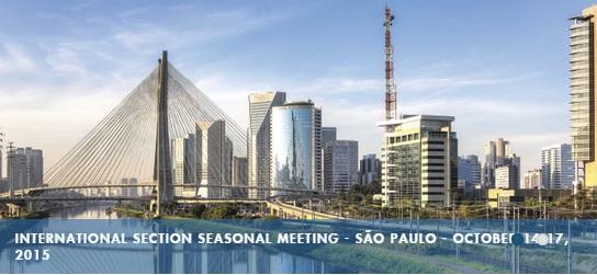 Sao Paulo NYSBA 2015 meeting