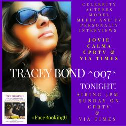 TRACEY BOND's Interview by Celeb Host JOVIE CALMA | CPRTV VIA TIMES