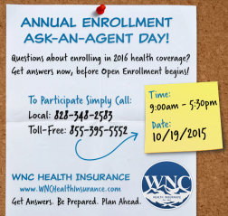 Call Us on Annual Enrollment Ask-An-Agent Day!