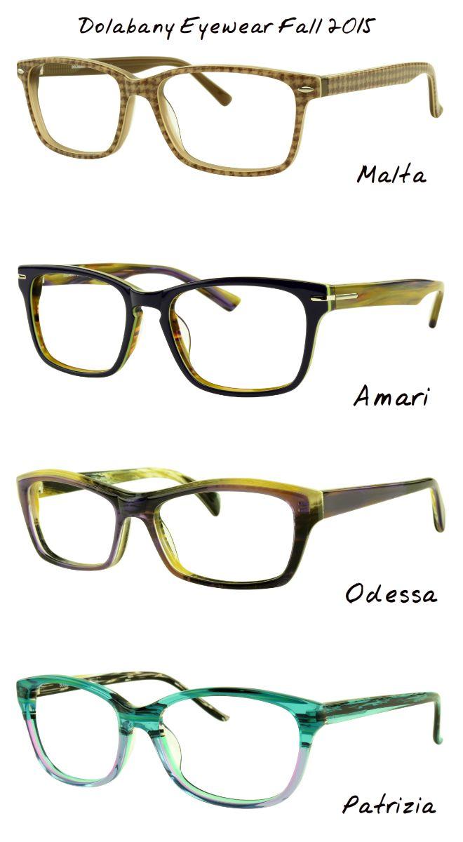 Dolabany Eyewear Fall Winter 2015 Malta Amari Odes
