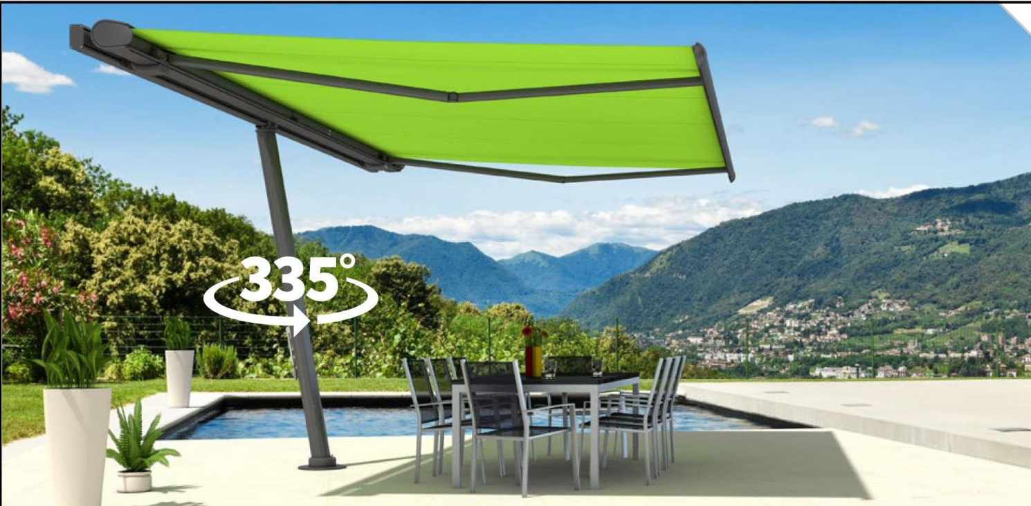 Introducing The Markilux Planet Free Standing Awning Frame