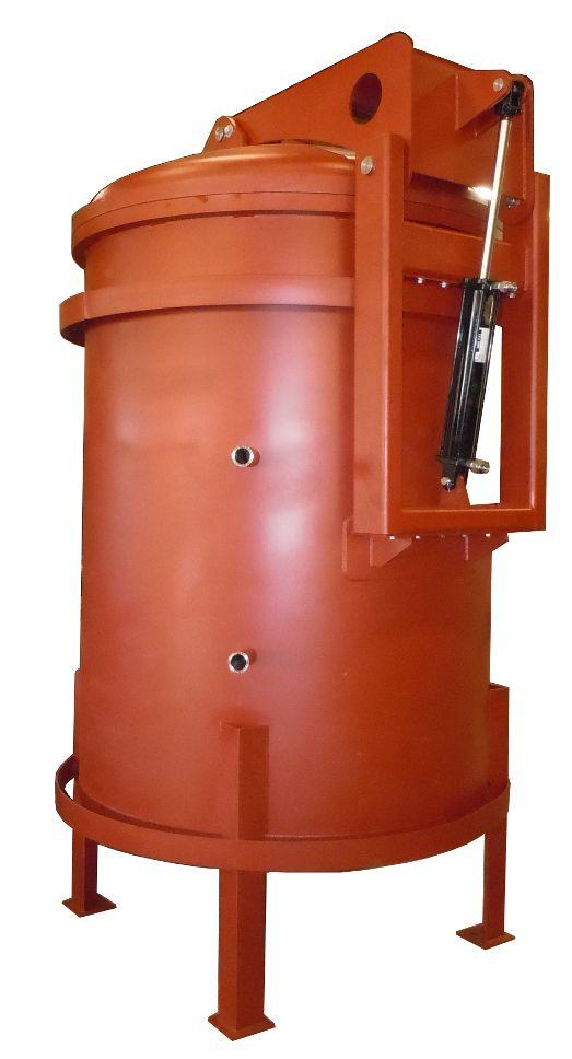BEPeterson_Vacuum Chamber_Hydraulic Closure