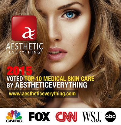 Aesthetic Everything unveils their Top 10 Medical Skin Care Lines for 2015