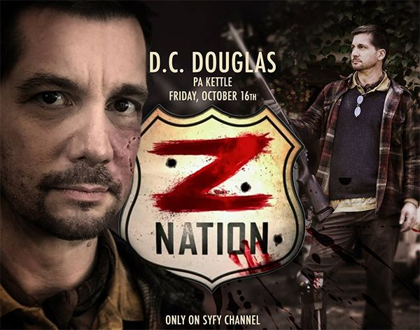 "D.C. Douglas as Pa Kettle on SyFy's ""Z Nation"""