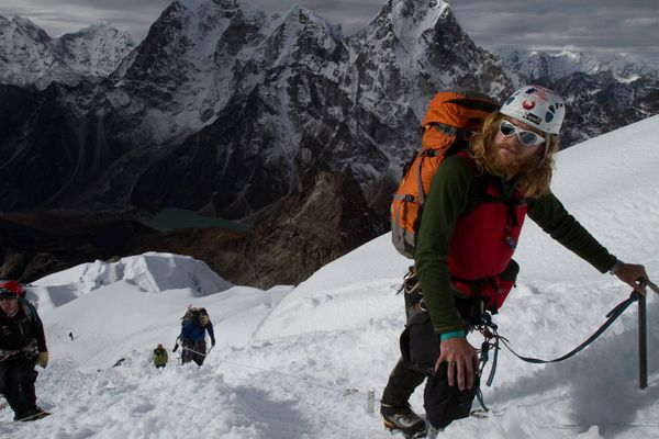 Chad Jukes on Lobuche East October 2010