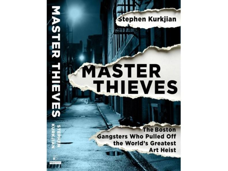 """Master Thieves"" book jacket"