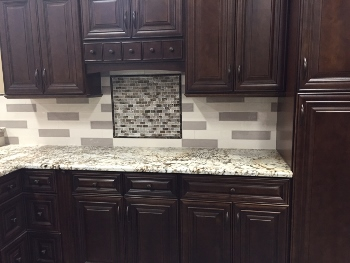 One of the Kitchen cabinetry styles available at Tile Outlets of America