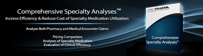 Comprehensive Specialty Analyses™-Increase Efficiency & Reduce Cost