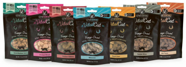 VE Freeze-Dried Vital Cat Treats!