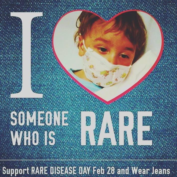Support Rare Disease Day on Feb. 28