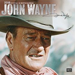 2016 John Wayne Wall Calendar