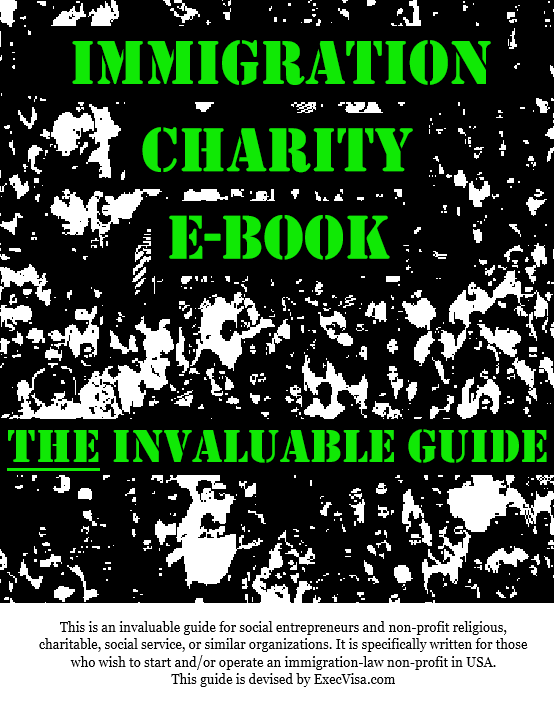 Immigration Charity E-book