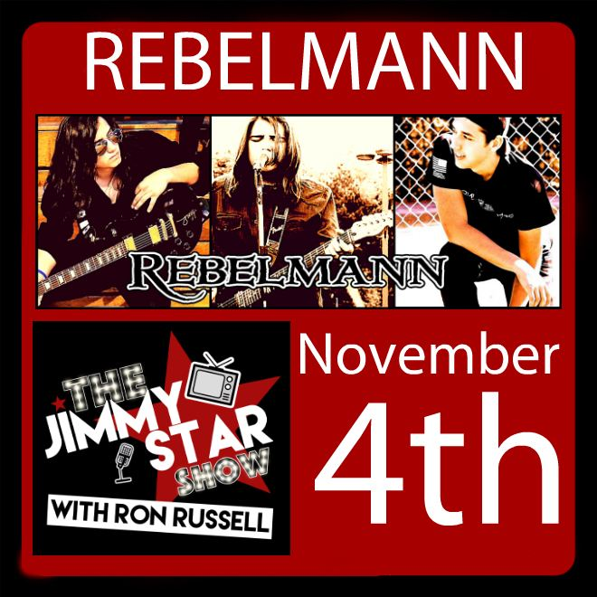 REBELMANN on The Jimmy Star Show