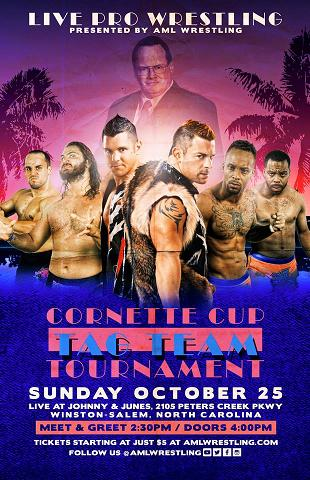 AML Wrestling Tag Team Wrestling In NC