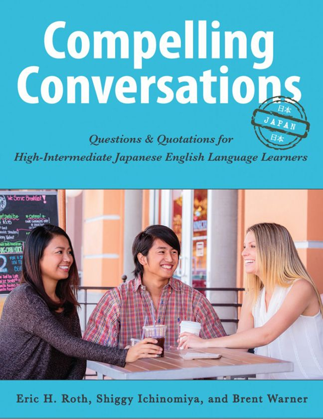 Compelling Conversations – Japan includes a dozen search and share worksheets.