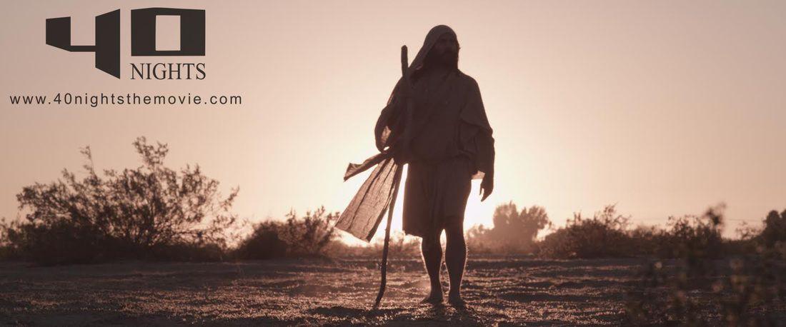 Jesus begins his quest into the desert